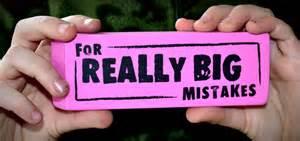 Really Big Mistakes Eraser